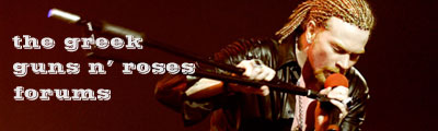 The Greek Guns N' Roses Forums
